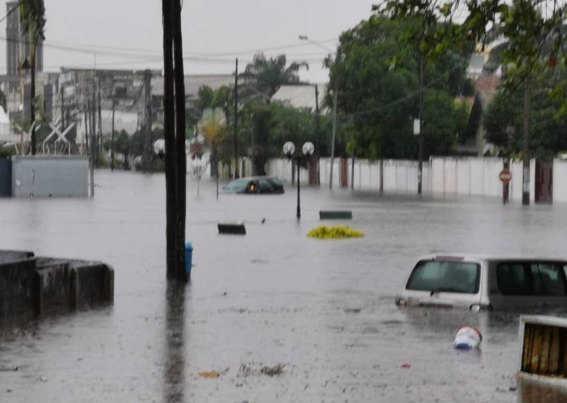 Pointe-Noire, la capitale économique sous les eaux