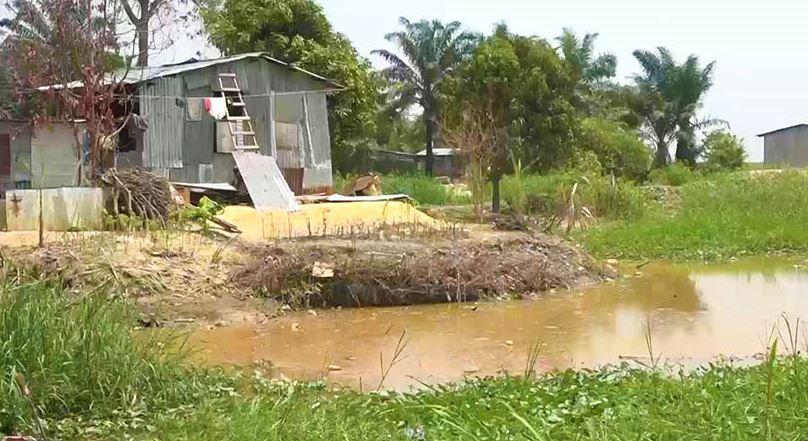 L'ampleur des dégâts au quartier Devala après le retrait des eaux