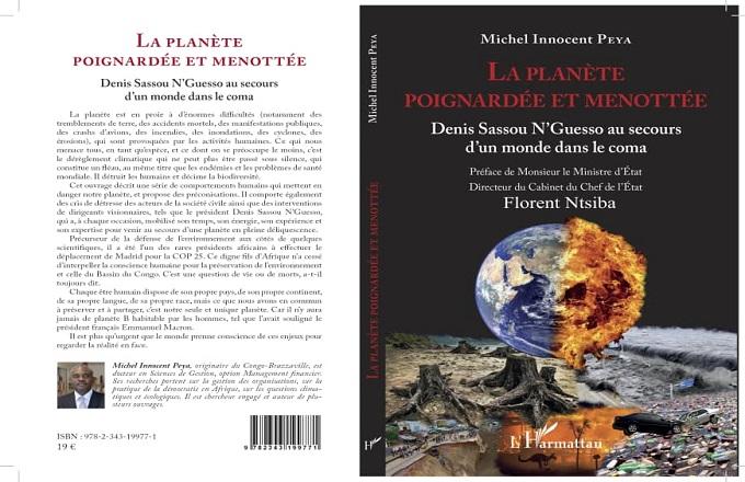 Congo – Littérature engagée : « La planète poignardée et menottée » le nouveau livre de Michel Innocent Peya