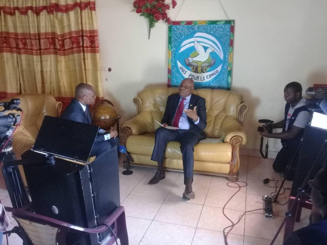 L'interview du président Paulin Makaya sur Vox Tv