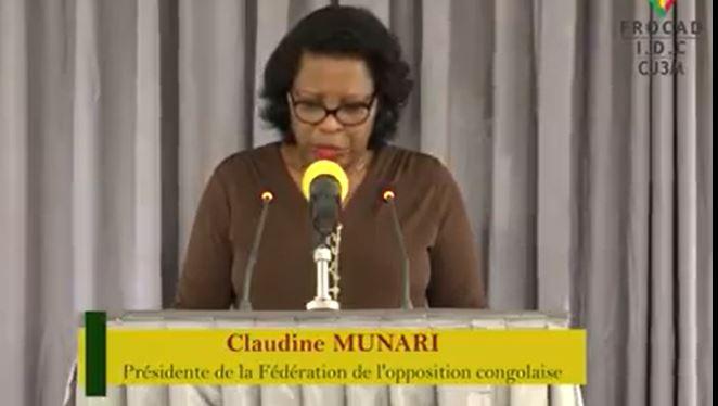Conférence de presse de la Fédération de l'opposition sur la gestion du Covid-19