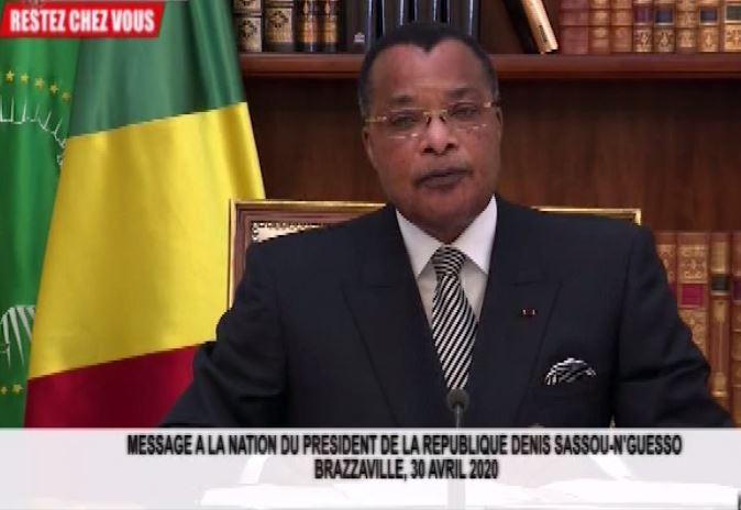 Discours de M. Sassou Nguesso sur le Covid-19