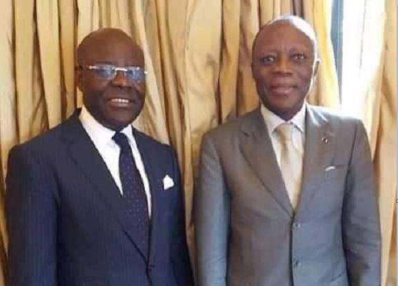 L'hommage du Général Jean-Marie Michel Mokoko à Marc Mapingou