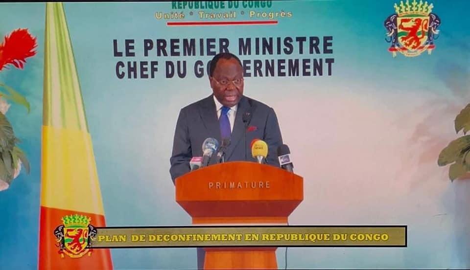 Communication du Premier Ministre Clément Mouamba relative au déconfinement