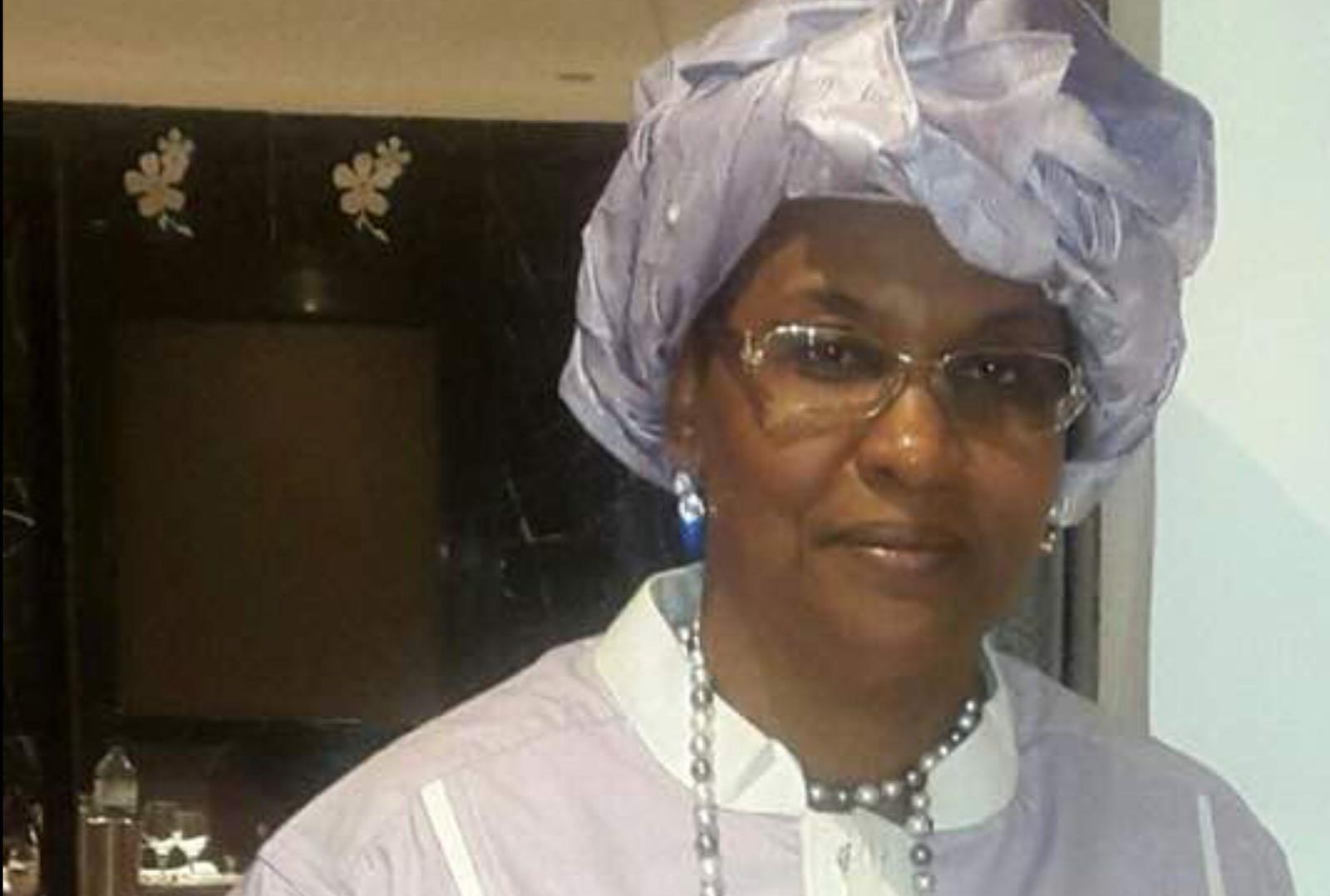 L'hommage de Madame Mokoko à Marc Mapingou