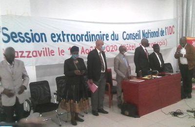 Session extraordinaire du Conseil National de l'IDC : Communiqué final