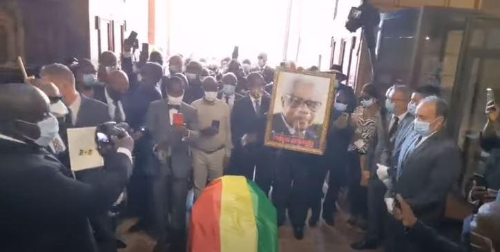 Obsèques du Professeur Président Pascal Lissouba