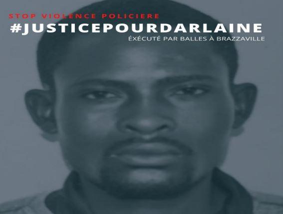 Justice pour Darlaine Tambika, torturé et exécuté par le Commandant Léonard Ngatse