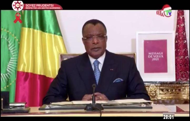 Les vœux pour 2021 du Président Sassou Nguesso