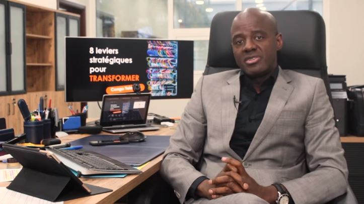 Présentation du plan stratégique de Congo Telecom par le Directeur Général, Yves Castanou