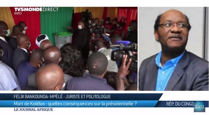 Congo : La mort du principal candidat-opposant à la présidentielle la nuit du vote