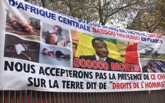 Manifestation des congolais de France (vidéo)
