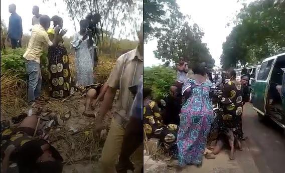 Grave accident de la circulation à Brazzaville (âmes sensibles s'abstenir)