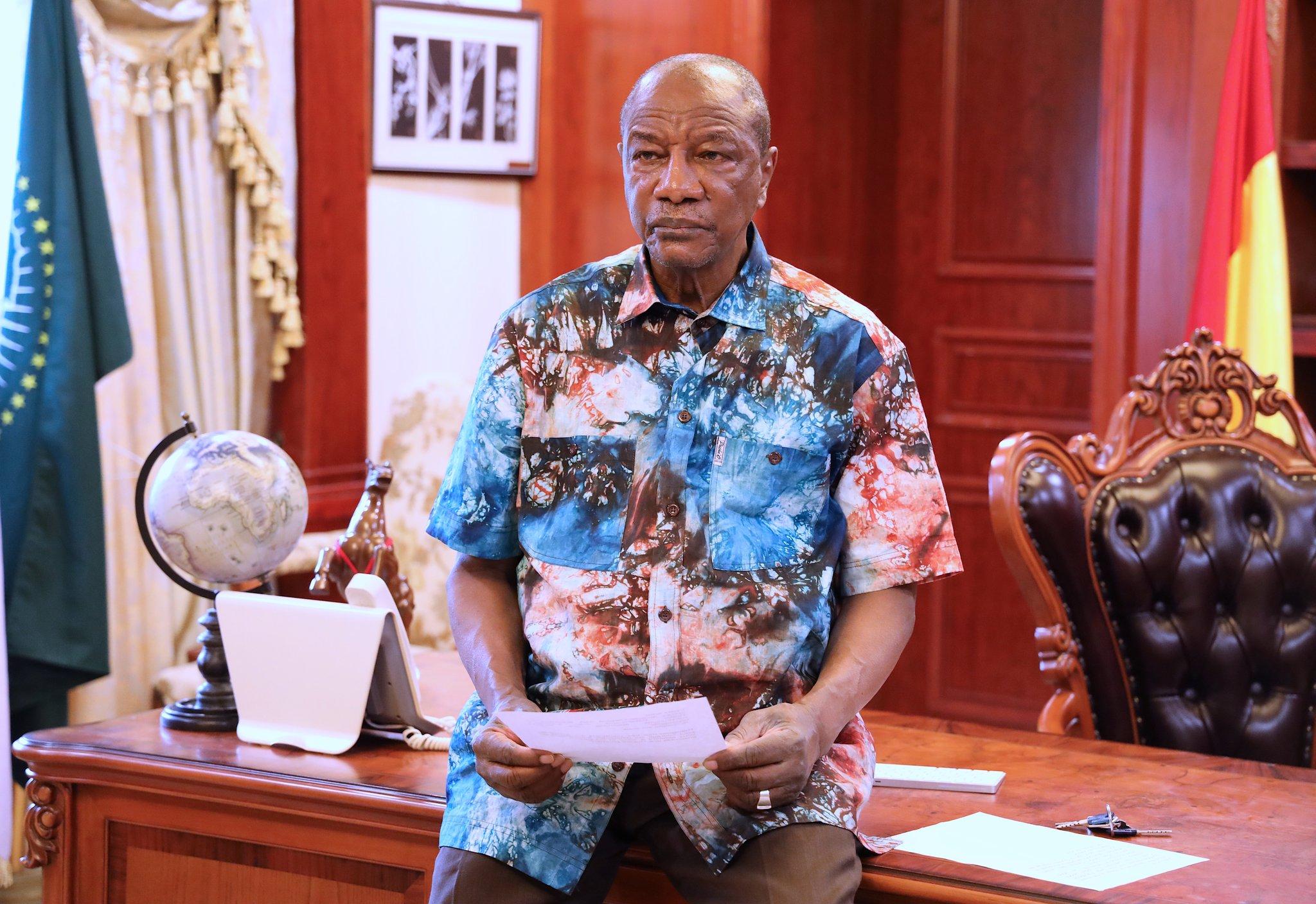 Le président déchu de la Guinée Alpha Condé ne posera plus ses valises à Brazzaville